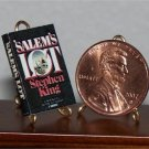 Dollhouse Miniature Book Salem's Lot Stephen King 1:12