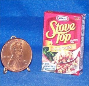 Barbie Bratz Miniature Food Stove Top Chicken Stuffing