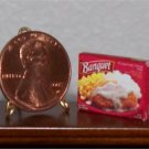 Dollhouse Miniature Chicken Fried Potatoe Corn Dinner