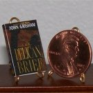 Dollhouse Miniature Book The Pelican Brief John Grisham