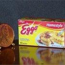 Barbie Bratz GI Joe Miniature Food Frozen Eggo Waffles