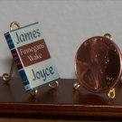 Dollhouse Miniature Book Finnegan's Wake by James Joyce
