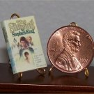 Dollhouse Miniature Book The Shining Stephen King 1:12