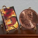 Dollhouse Miniature Book Rose Madder by Stephen King