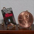 Dollhouse Miniature Book Novel Misery Stephen King 1:12