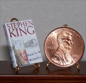 Dollhouse Miniature Hearts in Atlantis by Stephen King