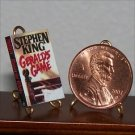 Dollhouse Miniature Book Gerald's Game by Stephen King