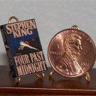 Dollhouse Miniature Four Past Midnight by Stephen King
