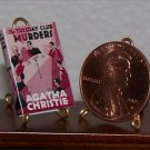 Dollhouse Miniature Tuesday Club Murder Agatha Christie