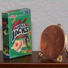 Dollhouse Miniature Food Apple Jacks Cereal Grocery