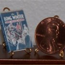 Dollhouse Miniature Book The Long Winter Laura Ingalls