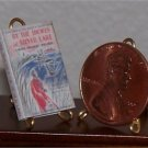 Dollhouse Miniature Book By the Shores of Silver Lake