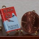 Dollhouse Miniature Death in the Air by Agatha Christie