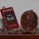 Dollhouse Miniature Book The Pearl John Steinbeck 1:12