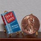 Dollhouse Miniature Book Sea of Cortez John Steinbeck