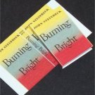 Dollhouse Miniature Book Burning Bright John Steinbeck