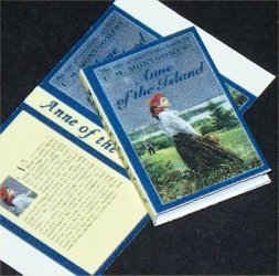 Dollhouse Miniature Anne of the Island by LM Montgomery