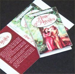 Dollhouse Miniature Book Anne of Avonlea LM Montgomery