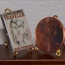 Dollhouse Miniature Book Lonsome Traveler John Kerouac