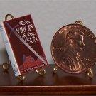 Dollhouse Miniature Virgin of the Sun H. Rider Haggard