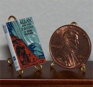 Dollhouse Miniature Allan &the Ice-Gods H Rider Haggard