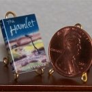 Dollhouse Miniature Book The Hamlet by William Faulkner