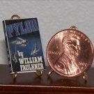 Dollhouse Miniature Book Pylon by William Faulkner 1:12