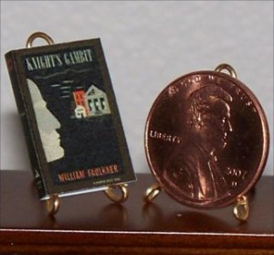 Dollhouse Miniature Knight's Gambit by William Faulkner