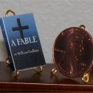 Dollhouse Miniature Book A Fable by William Faulkner