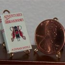 Dollhouse Miniature Adventures of Sherlock Holmes Doyle