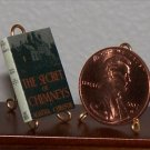 Dollhouse Miniature Secret of Chimneys Agatha Christie