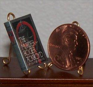 Dollhouse Miniature Murder of Roger Ackroyd A Christie