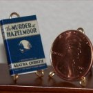 Dollhouse Miniature Murder at Hazelmoor Agatha Christie