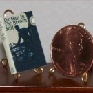 Dollhouse Miniature Book Man in the Brown Suit Christie