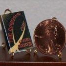 Dollhouse Miniature The Boomerang Club Agatha Christie