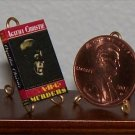 Dollhouse Miniature The ABC Murders by Agatha Christie