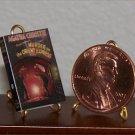 Dollhouse Miniature Book Murder on the Orient Express