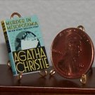 Dollhouse Miniature Book Murder in Mesopotamia Christie