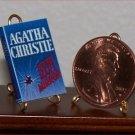 Dollhouse Miniature Dead Man's Mirror Agatha Christie
