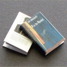 Dollhouse Miniature Book R is for Rocket Ray Bradbury