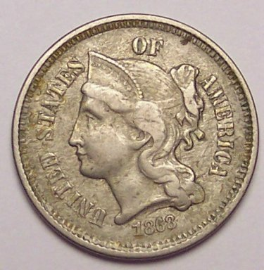 3 Cent Liberty Coin