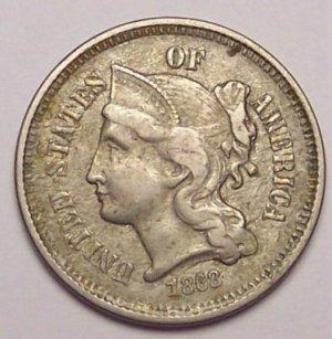 3 Cent Liberty Coin