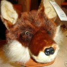 RED FOX HAT cap COSTUME sexy & Hound foxy mask coyote halloween costume