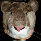 COUGAR HAT ski cap plush Halloween costume WILDCAT mountain lion ADULT kids Penn State Nittany