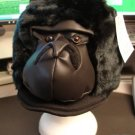 BLACK GORILLA HAT APE king kong order by 10/26 US GUARANTEED HALLOWEEN Costume Mask on Head