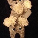 KOALA MITTENS knit ADULT Lined BEAR gray puppet NEW Halloween Costume 10""
