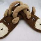 ADULT Mountain Goat LONG HORN SHEEP MITTENS longhorn KNIT MENS WOMENS