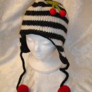 CHERRY  cherries Hat for HUMANS mens womens costume felted balls