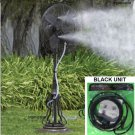 clip on MISTING KIT outdoor fan mist sprinkler spray water patio plant nursery