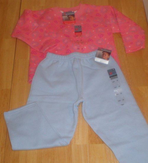 2pc Hanes Premium  Sweat Suit for Girls